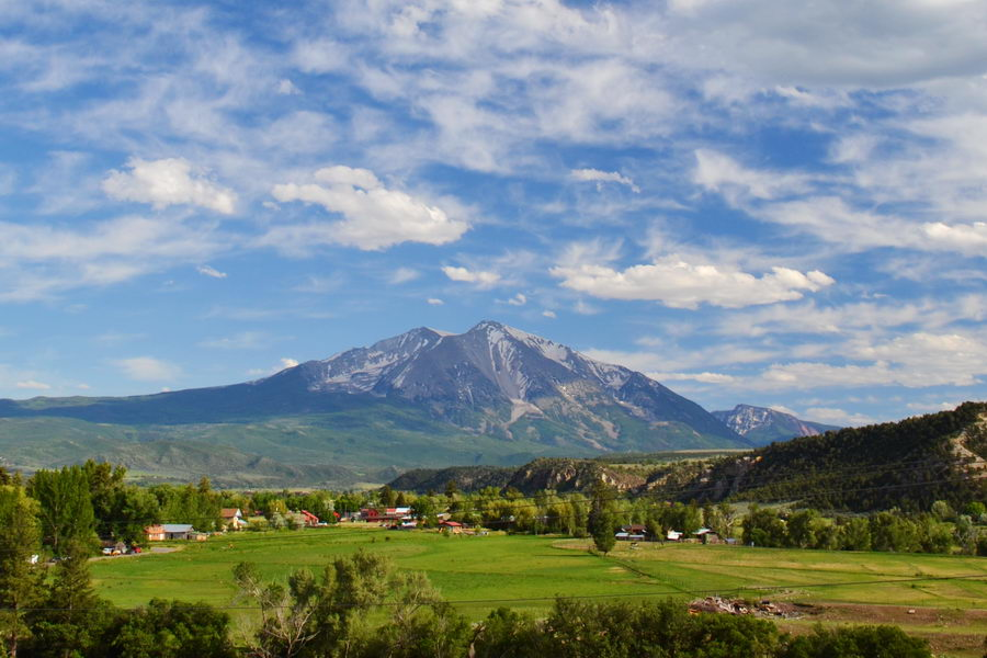 Carbondale Colorado And Mt. Sopris