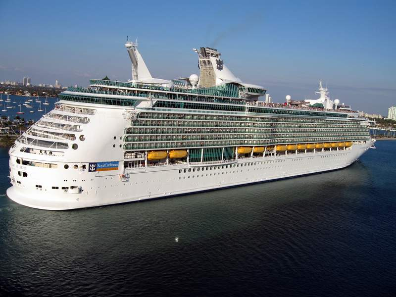 You should probably read this Royal Caribbean Navigator Of The