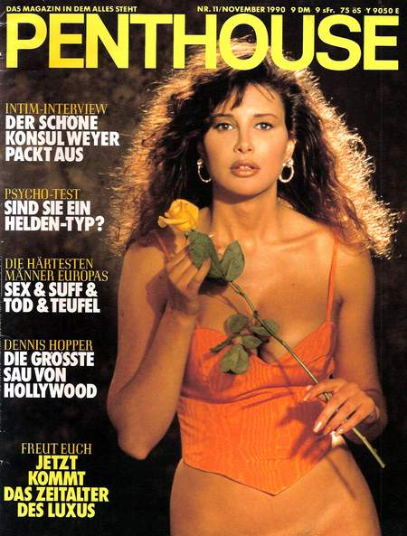 ultimate taxi featured in penthouse germany november 1990 jon barnes magazine press clippings. Black Bedroom Furniture Sets. Home Design Ideas
