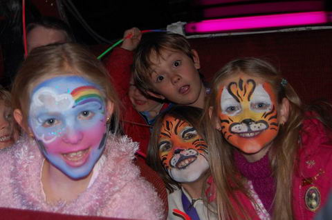 Face Paintings On Kids